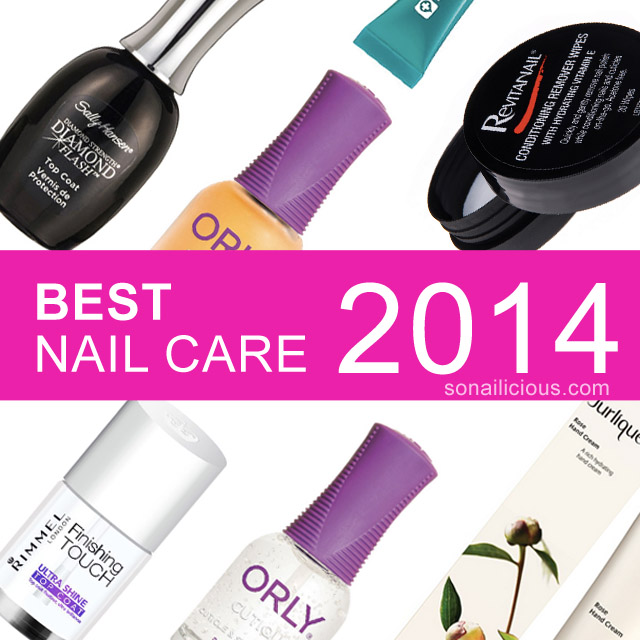 BEST NAIL CARE PRODUCTS 2014