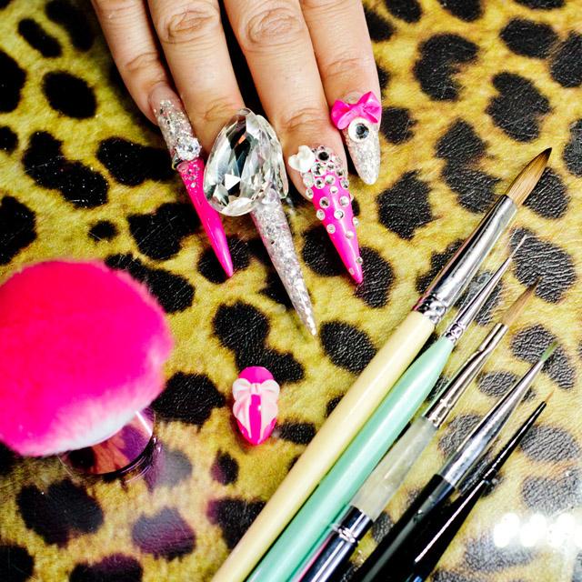 Favorite nail art brushes