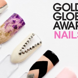 Golden globes 2015 best dressed nails