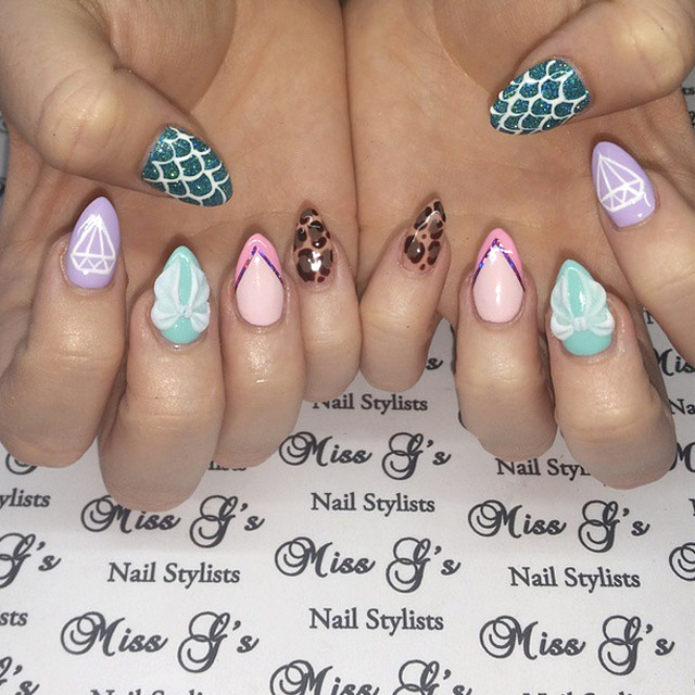 Mix and Match nails by Miss Electra