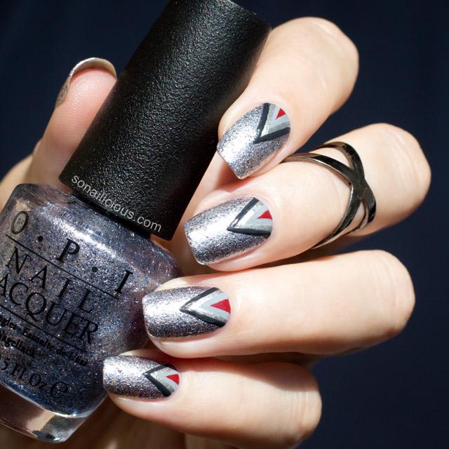 50 shades of grey nails
