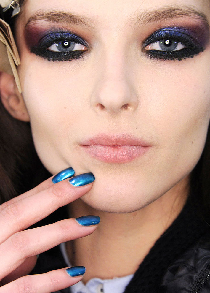 nails at  Monique Lhuillier Fall 2015