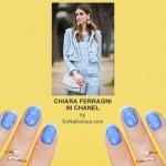 NAFW 2015 Day 5 – Chiara Ferragni Inspired Tweed Nails