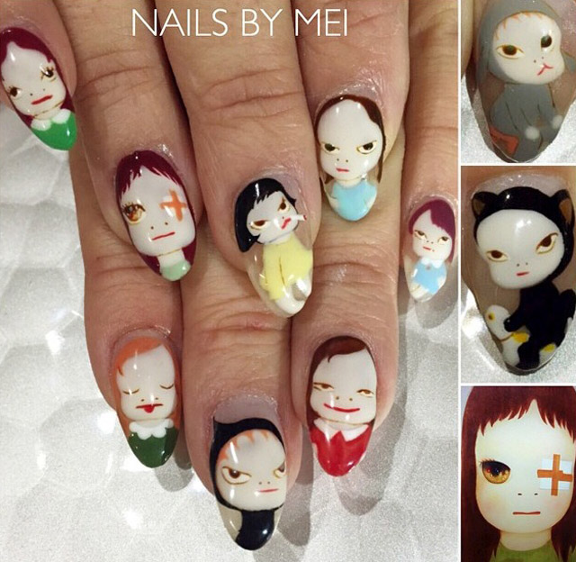 Kawaii nails by Nails By Mei