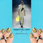 NAFW 2015 Day 1 – Kenzo Inspired Nail Art