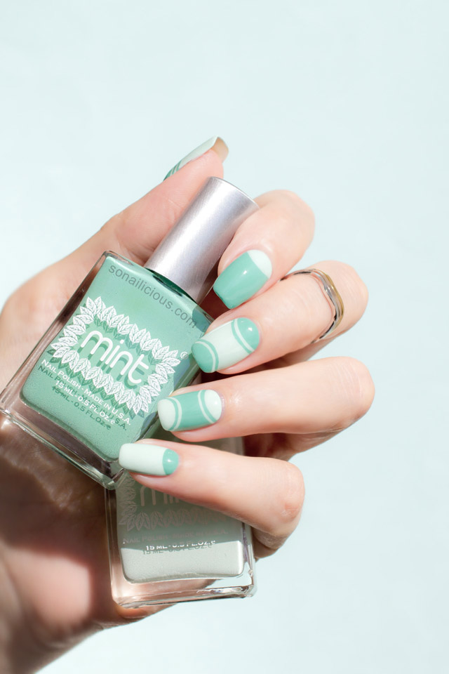 Mint Polish Ice Cube swatch