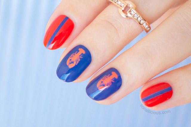 spring nail art 2015