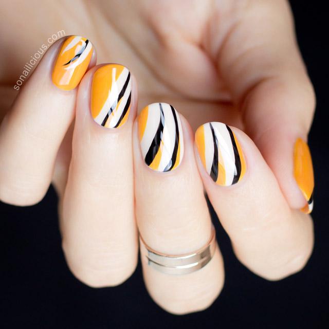 dior fall 2015 nails by @so_nailicious