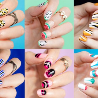 nail art fashion week 2016