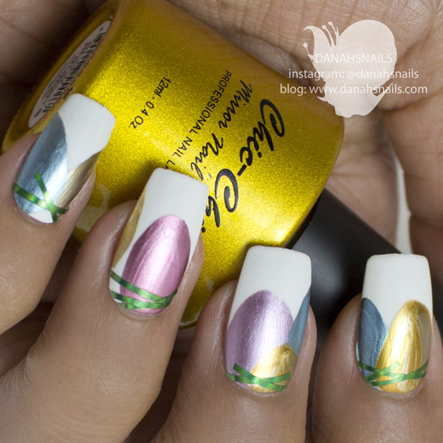 Easter nails by Danah Alfares