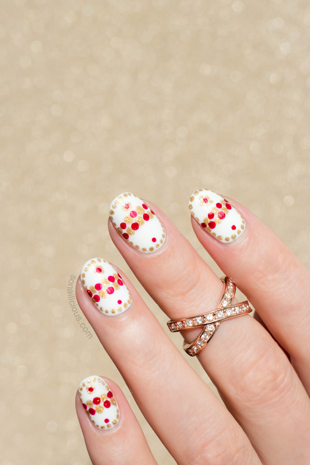 Faberge Easter Egg Nail Art