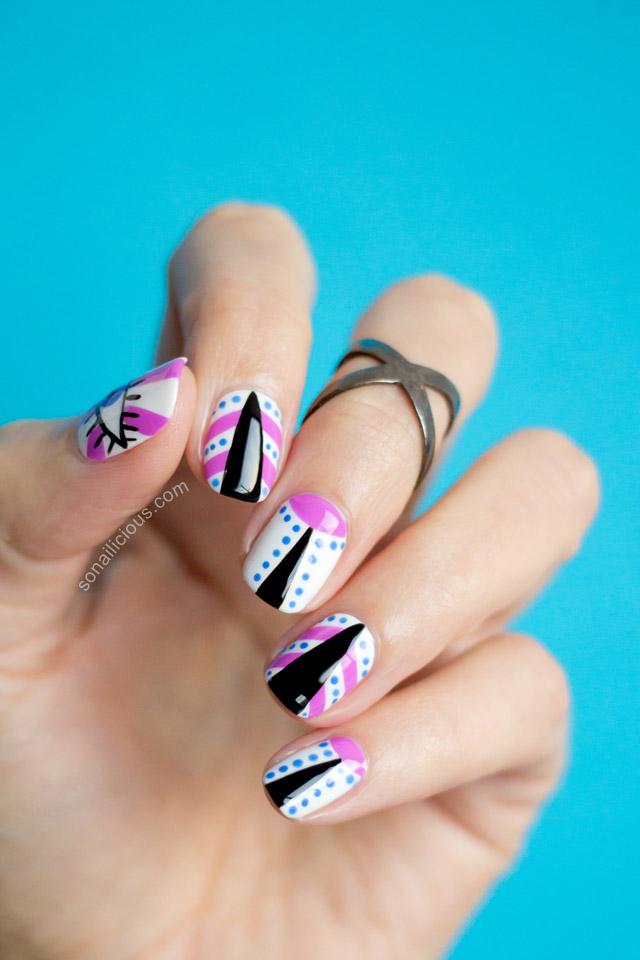 mbfwa 2015 nail art