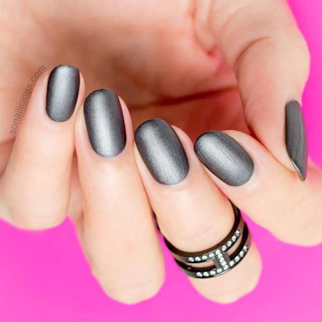 best gunmetal nail polish