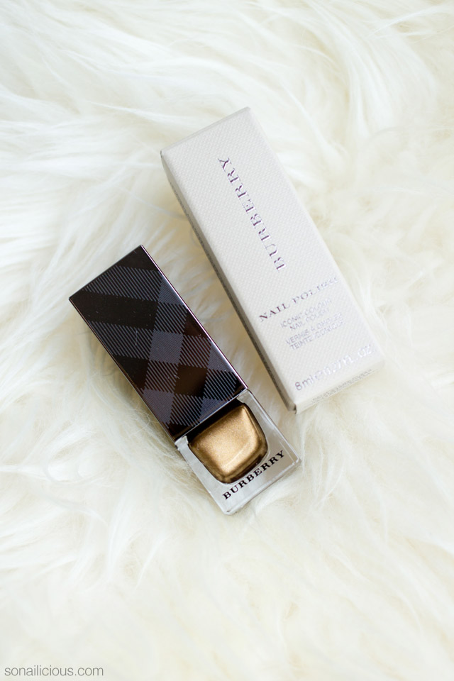 burberry antique gold 445 review swatch