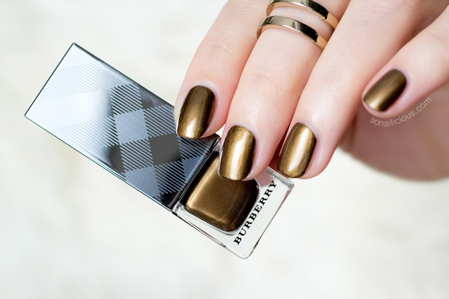 burberry antique gold review swatches