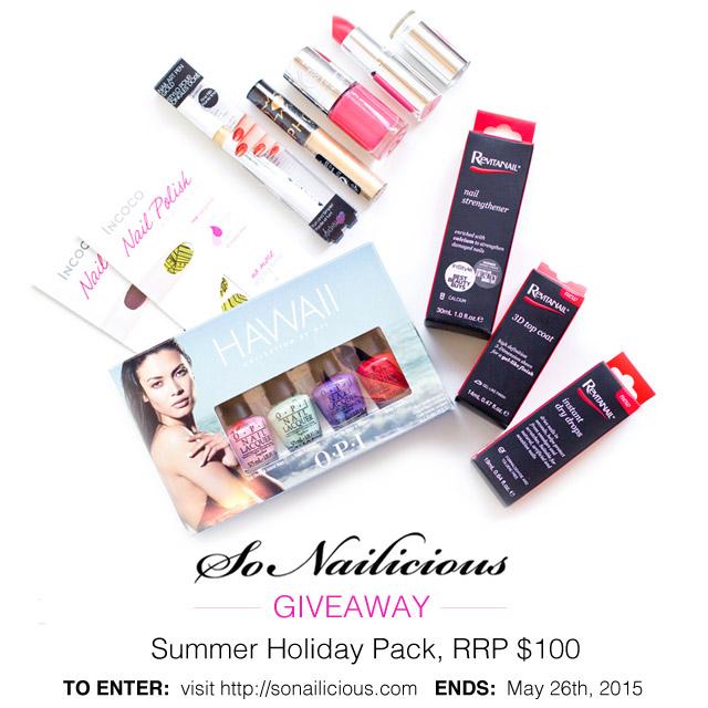 summer beauty giveaway sonailicious