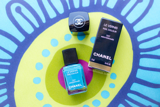 Chanel Le Vernis Mediterranee swatch review