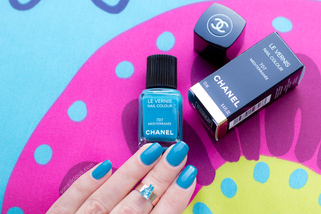 Chanel Le Vernis Mediterranee swatches review