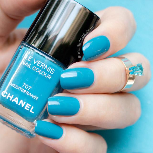 Chanel Mediterranee swatch
