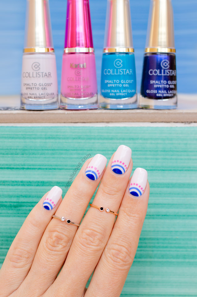 Collistar Nail Polish review, swatches
