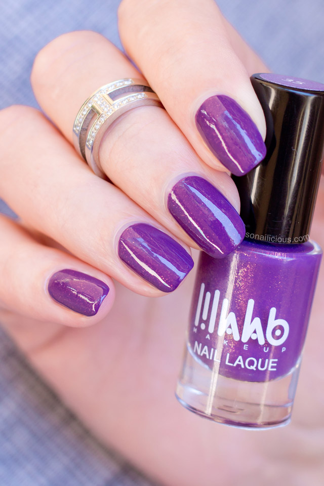 35 Nail Design Ideas For The Latest Autumn Winter Trends: Lillalab Nail Polish 35 Review Swatches