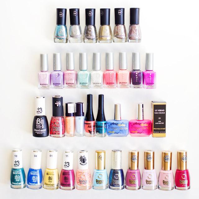 Russian nail polish haul