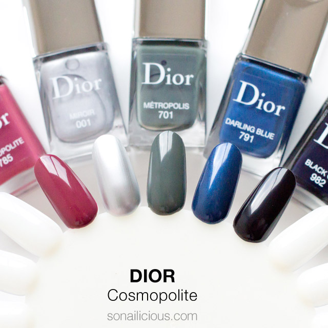 DIOR Mirror swatches all