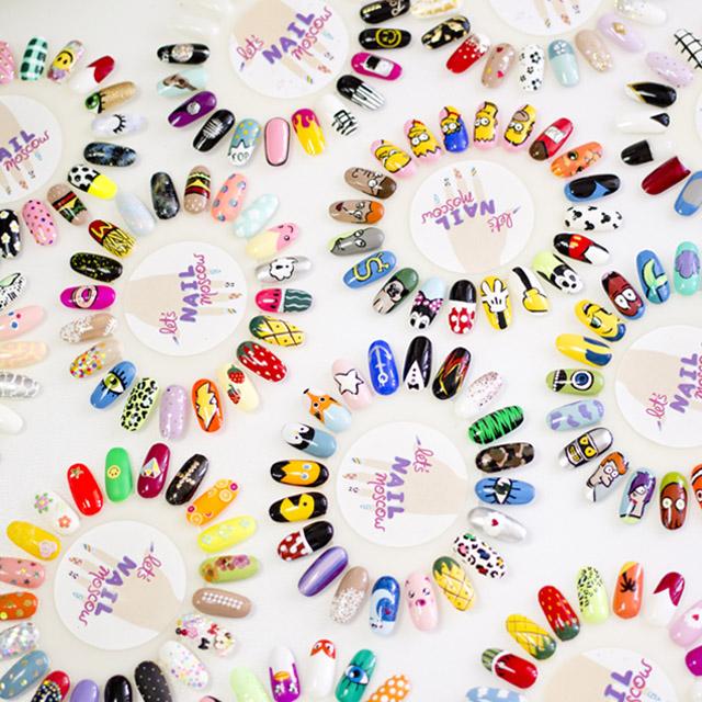 Lets Nail Moscow nail designs