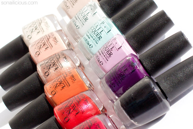 OPI venice fall 2015 collection