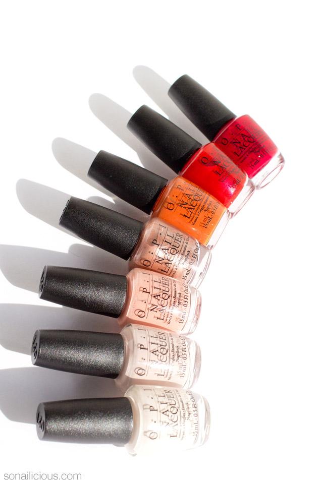 OPI venice nail polish collection 1