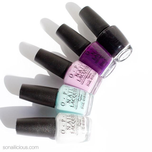 OPI venice nail polish collection