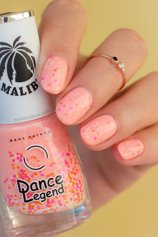 Summer nail polish, Dance Legend Malibu 594