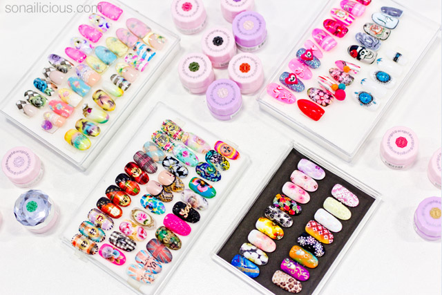 amazing japanese nail art at beauty expo australia 2015