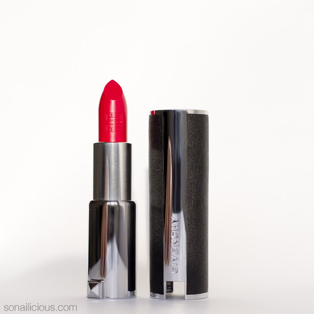 givenchy le rouge 305 rouge egerie review