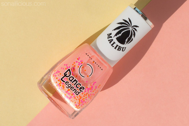 summer nail polish, Dance Legend Malibu 594