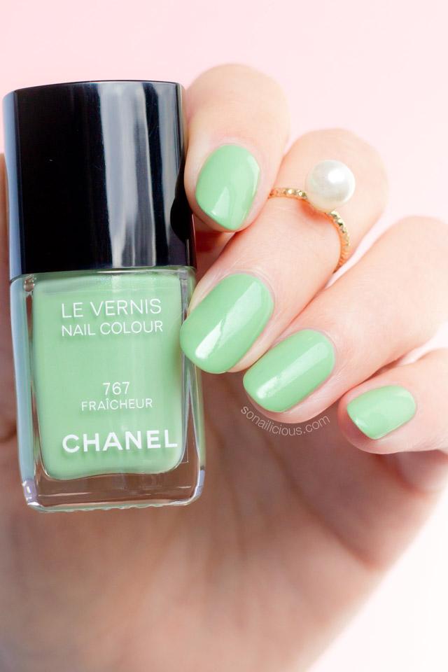 Chanel fraicheur swatches