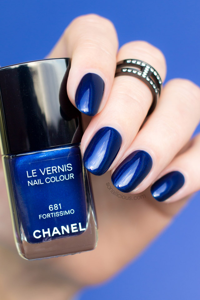 chanel fortissimo swatch
