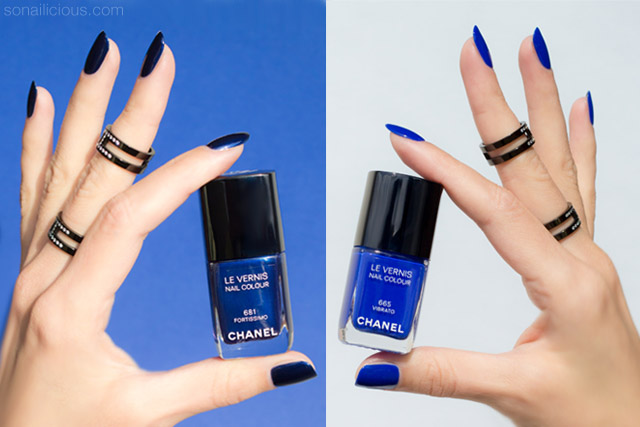 chanel vibrato chanel fortissimo swatches review