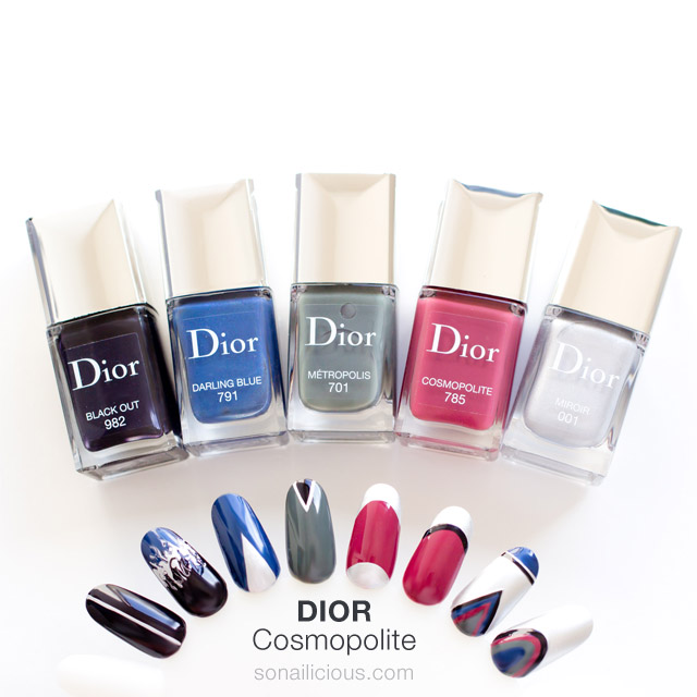 nail art ideas dior cosmopolite nail polish