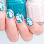 Paisley Nail Art For Short Nails. Plus, 4 Tips For Nailing It – Day 2