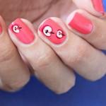 Tutorial: Autumn Apple Nails