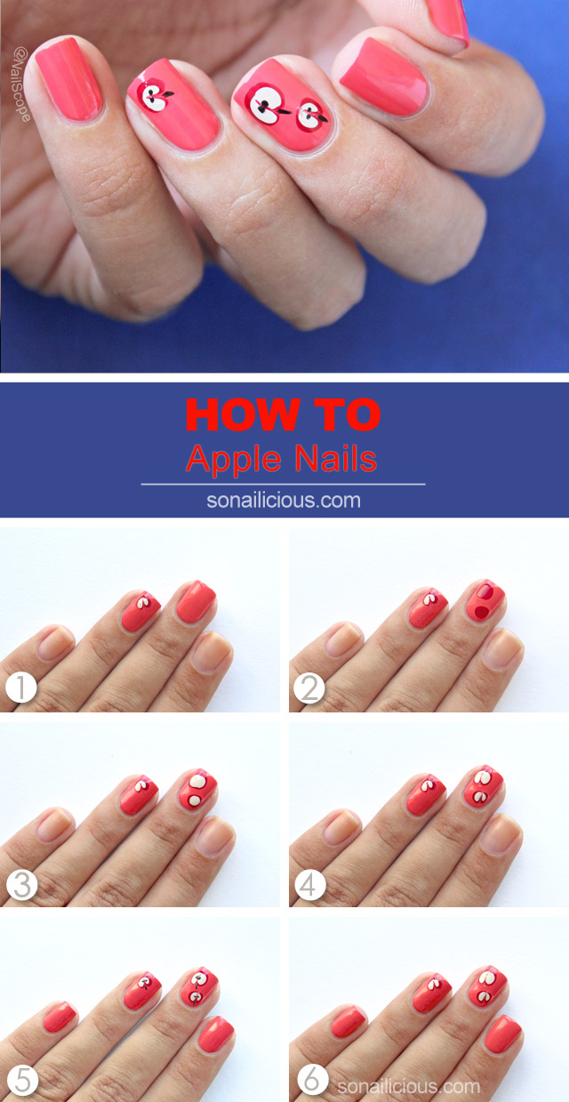 apple nails how to