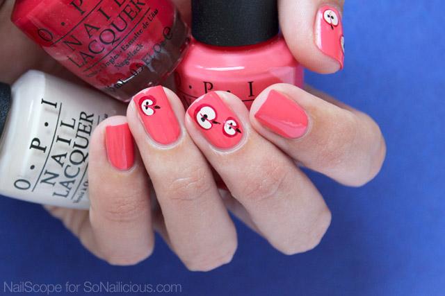 autumn apple nails