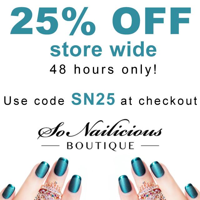 sonailicious boutique BLACK FRIDAY SALE 2015 code
