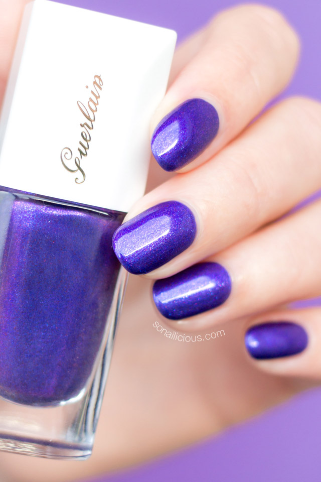 Guerlain Nuit merveilleuse nail polish swatch review