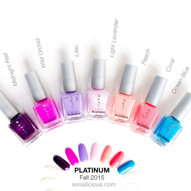 platinum polish review swatches