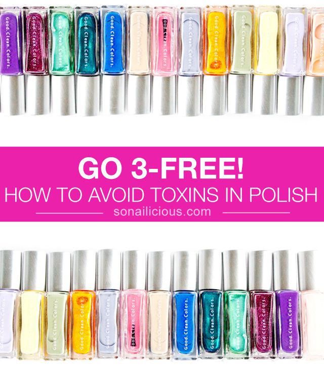 why you should buy 3-free nail polish