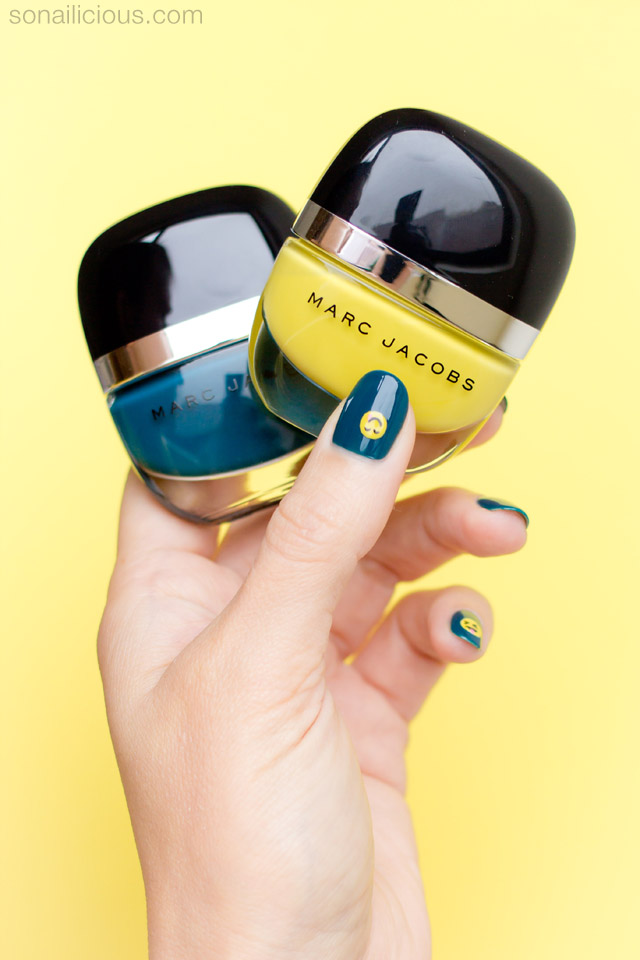 emoji nails, marc jacobs lux