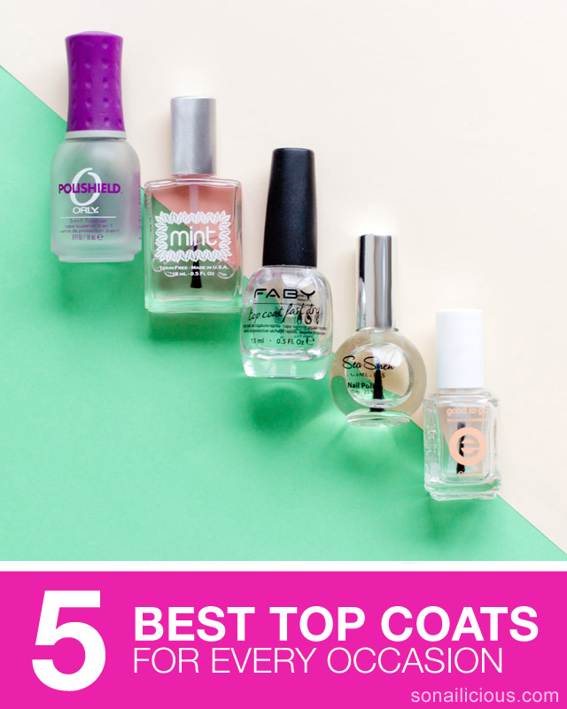 top coat nail polish - TOP 5