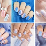 20 Incredible Pantone 2016 Pink and Blue Nail Designs